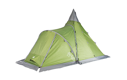 フリスポート エクストリーム 8 ティピーテント 8人用 ティピー型ワンポールテント 焚き火テント アウトドア キャンプ frisport