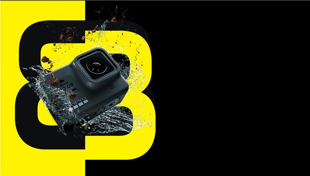 Gopro HERO8 Black ゴープロ ヒーローエイト ブラック アクションカメラ ウェアラブルカメラ ビデオ 防水 CHDHX-801-FW