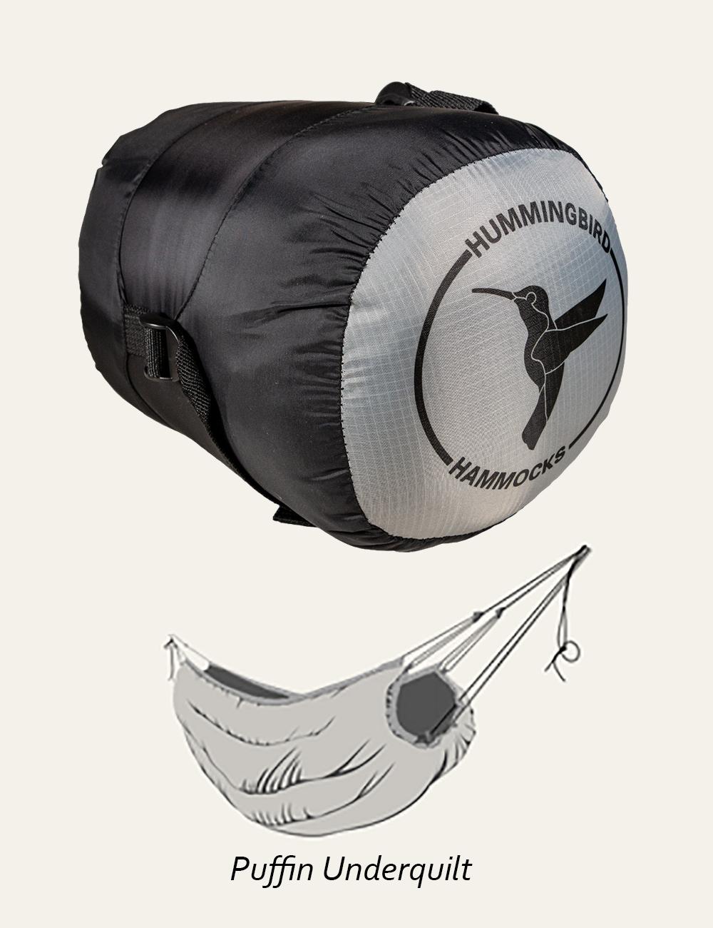 ハミングバードハンモック パッフィンアンダーキルト 766g Hummingbird Hammocks Puffin Underquilt キャンプ アウトドア