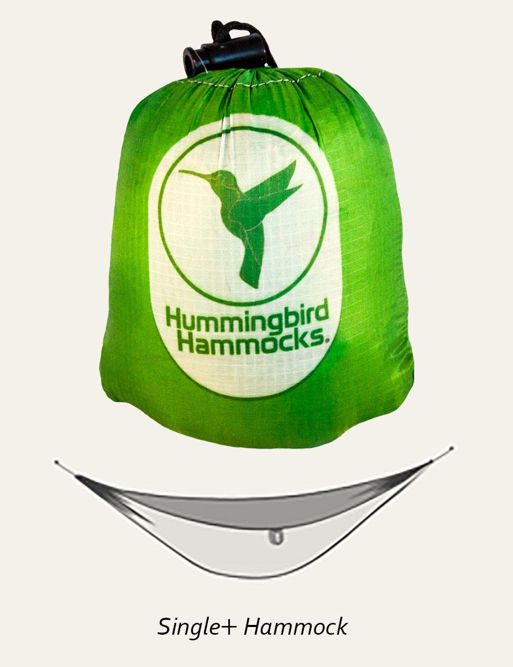 Hummingbird Hammocks ハミングバード シングルプラスハンモック 1.5人用 軽量