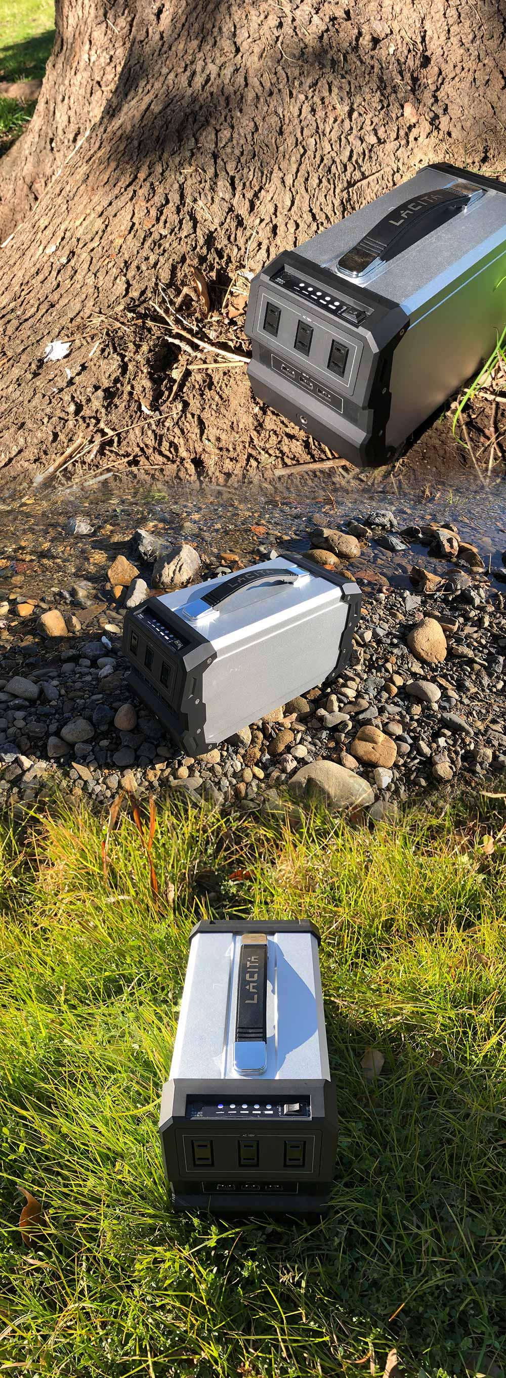 LACITA ENERBOX450 ラ・チタ ポータブル電源 エナーボックス 450 CITAEB450 車中泊 正弦波 防災グッズ 非常用電源 大容量 バッテリー 充電器 AC電源 発電機 アウトドア キャンプ CAMP OUTDOOR 停電対策